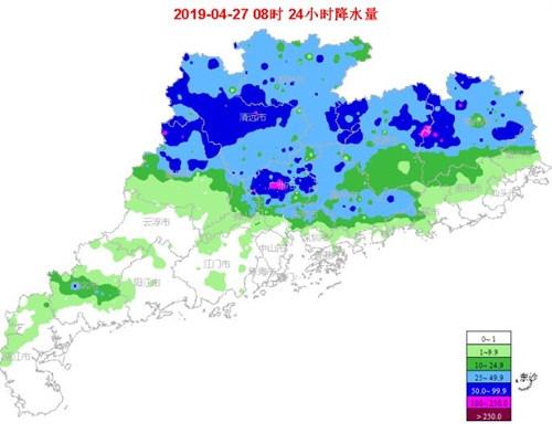 27-28日雷雨等强对流仍是广东天气的主角