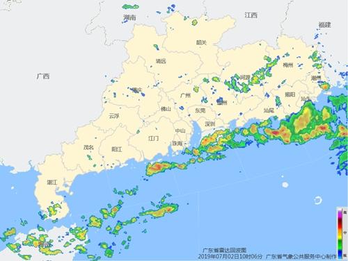 热带低压将于2日夜间登陆海南到雷州半岛