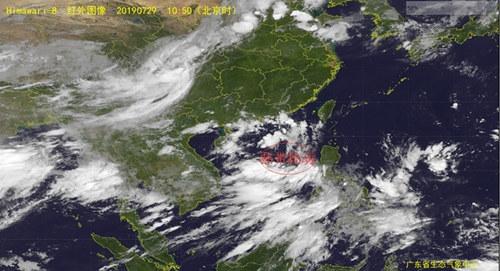 30日南海将有热带低压生成