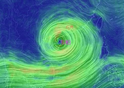 """""""韦帕""""即将登陆雷州半岛 我省南部仍有大风暴雨"""