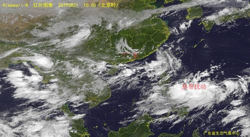 21-24日高温炎热为主 西太洋面有热带扰动