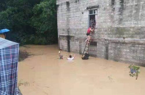 """""""白鹿""""环流影响 今天广东西部仍有暴雨到大暴雨"""