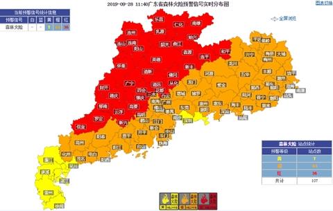 广东干晴持续 早晚有轻雾