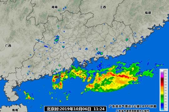 今明有雨水袭扰广东 返程注意交通安全