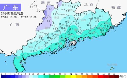 未来五天冷空气频繁 北风阵阵寒凉持续