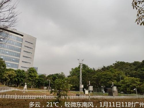 12日广东中北部有雨