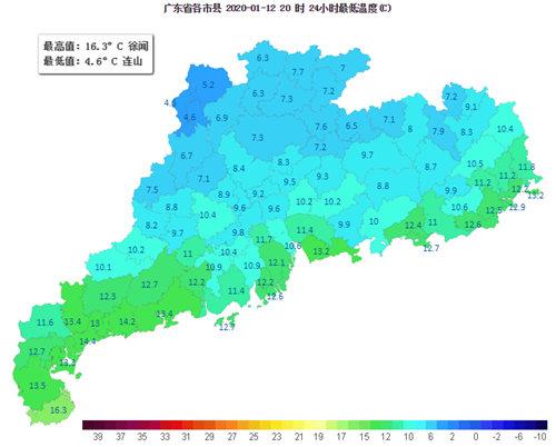 13-15日广东云量渐增 气温回升