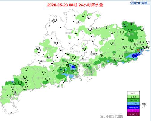 25-26日又一波强降水对广东虎视眈眈