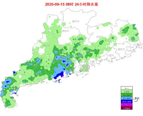 15至17日雷雨减弱 18日起降水又趋明显