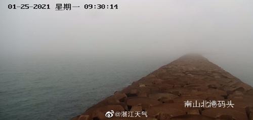 25-27日广东大部多云 28-29日有中等强度冷空气