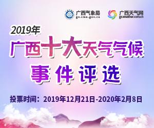 2019广西十大天气气候事件评选活动