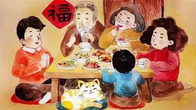 """过春节生活方式也要学会""""节"""""""