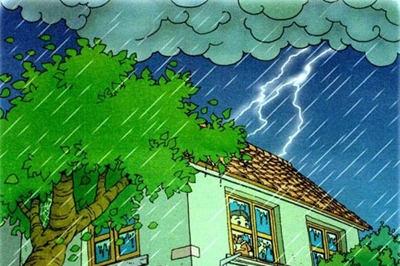 遭遇强对流天气时该怎么办?