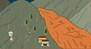 一张图了解遇到泥石流怎么办