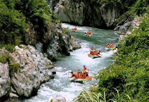 暑期旅游推荐国内篇(20)五排河漂流