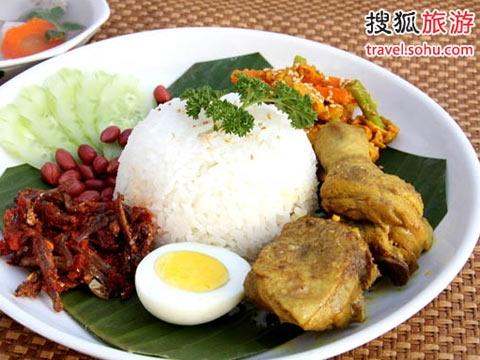 文莱人的早餐--椰浆饭