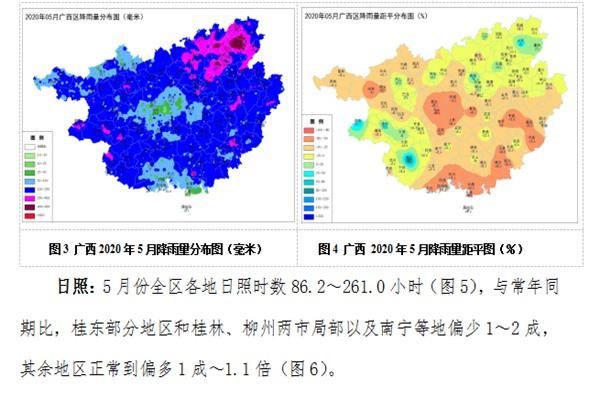 广西2020年5月农业气象月报