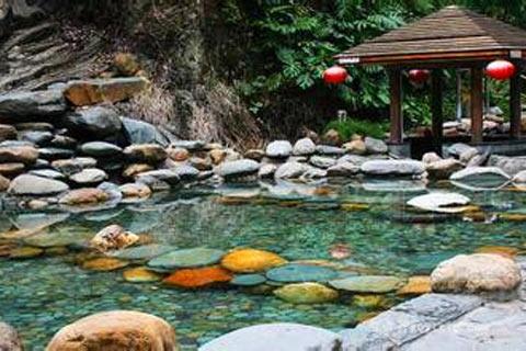 广西阴冷难耐 区内温泉之旅最享受