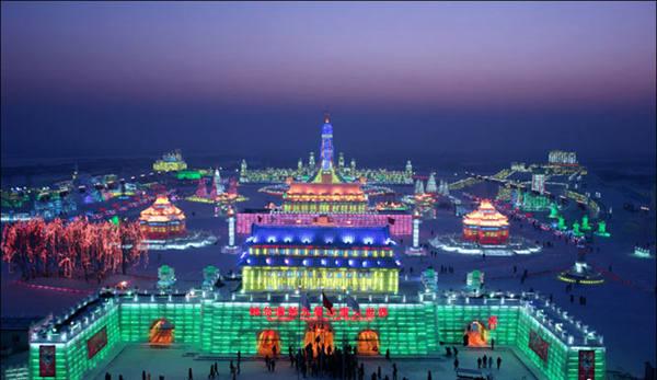 冬天广西难觅雪影 那就飞去哈尔滨吧
