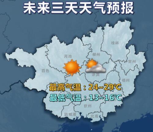 下周前期继续放晴 周后期冷空气至气温下降