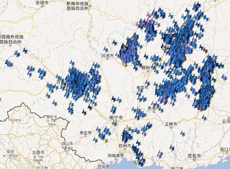 7月18日0时~18时广西雷电活动分布.jpg