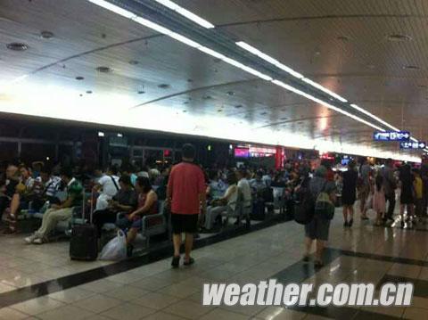 桂林两江机场航班恢复起降