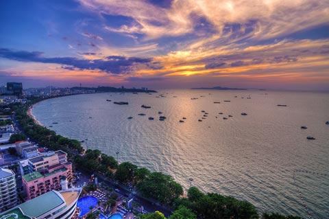 泰国:芭提雅海滩(pattaya beach)