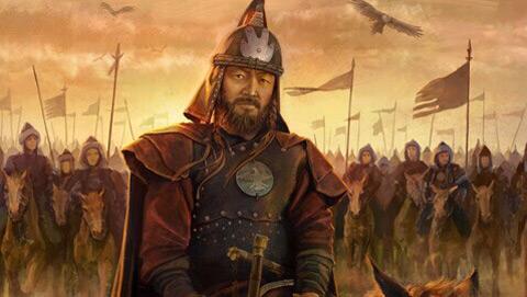 这是一些古代战争爱好者对成吉思汗南下攻打宋朝这图片