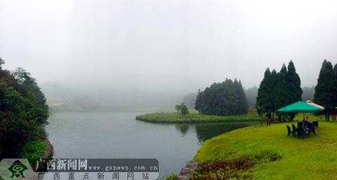 大容山国家森林公园开园迎客 雨后堪比人间仙境