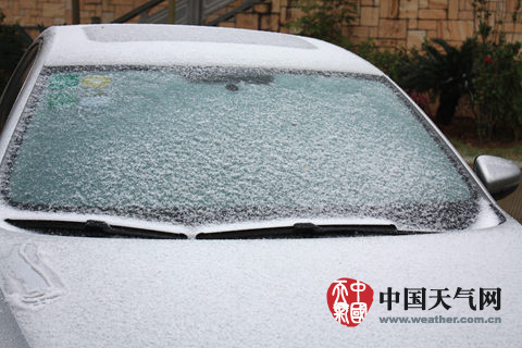 广西下雪线已达沿海线