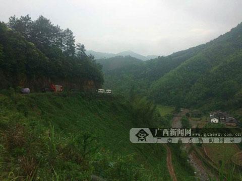 桂林已找到失联直升机