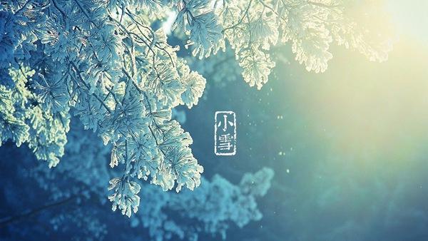 廿四节气之小雪