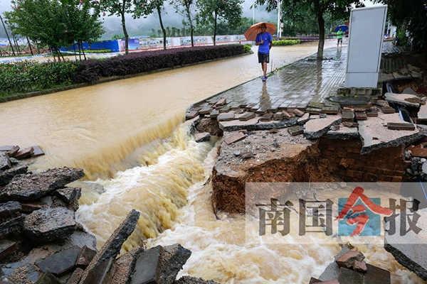 柳州启动防洪四级应急响应 多条河流水位超警
