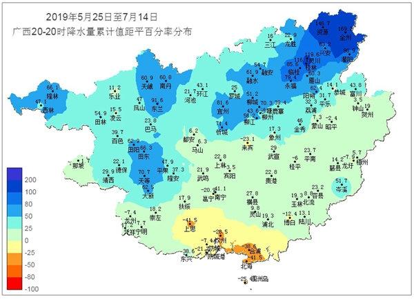 广西前期降雨总结及分析