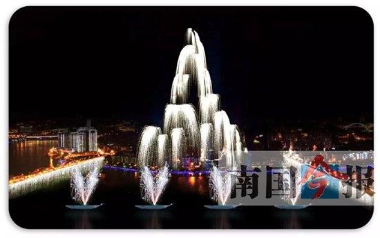 柳州国际水上狂欢节开幕式9月30日晚举行