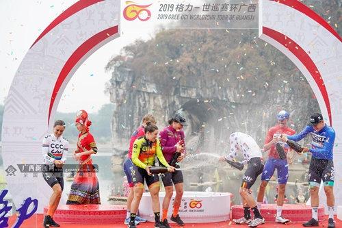 """2019""""环广西""""收官:快步车队马斯获总成绩冠军"""
