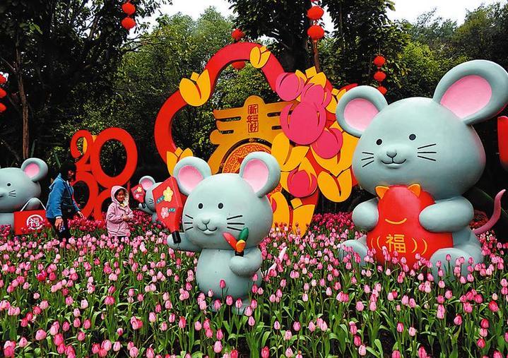 青秀山2020年春节系列活动亮点纷呈
