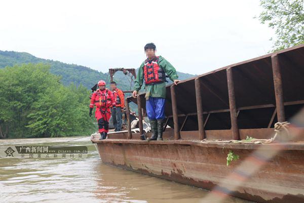 全州强降雨致2人被困
