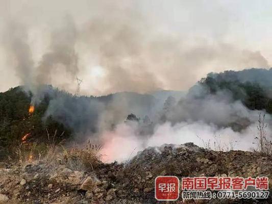 森林火险达红色预警 桂林林区禁止野外用火