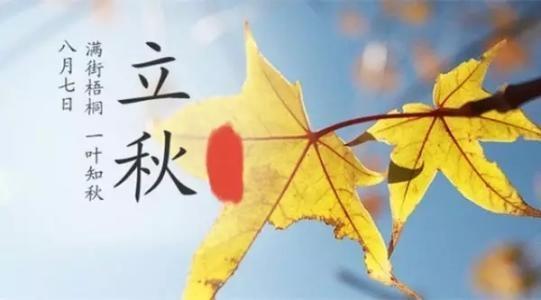 立秋入秋相差甚远 闷热多雨仍是常客