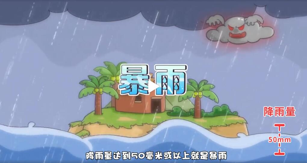 气象知识—暴雨