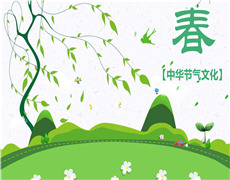 中华节气文化—春季