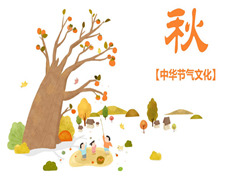 中华节气文化—秋季