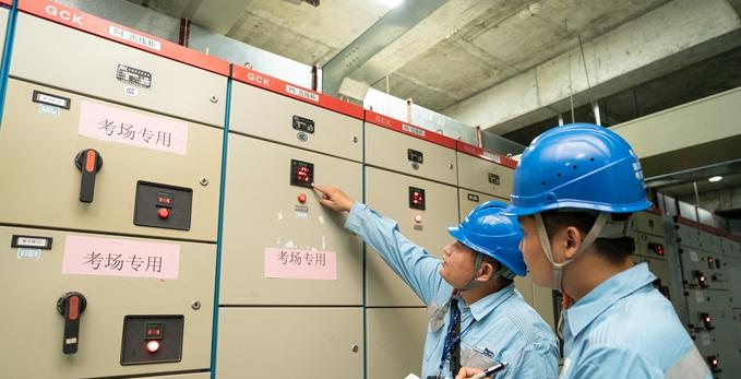 原创组图 | 海口:高考期间全部考点将执行一级保供电