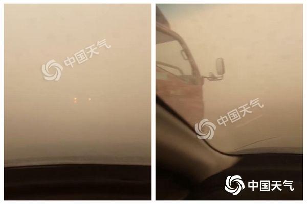 沙尘一路向东潜入京城 今年5月北方沙尘或比常年偏多