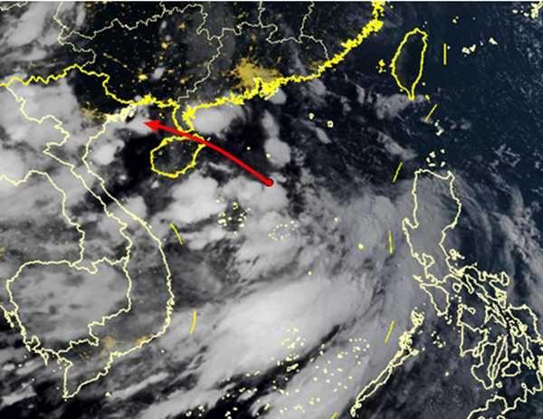 热带低压将于30日在南海中部生成 海南将迎较强风雨天气