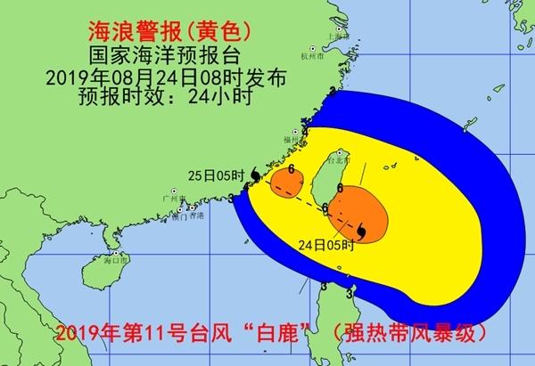 预警!台湾海峡巴士海峡等海域将出现4-7米巨浪到狂浪
