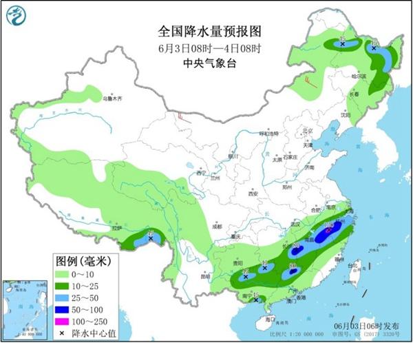 南方暴雨下不停 北方将迎今年来最大范围高温天