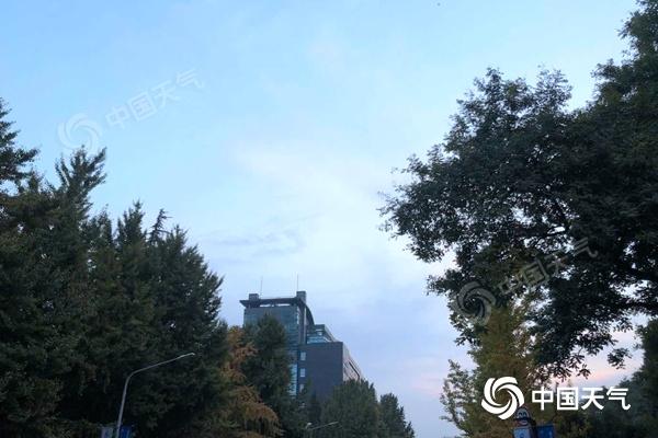 """北京今日阳光""""在岗""""迎重阳 明日午后北风加强需防风"""