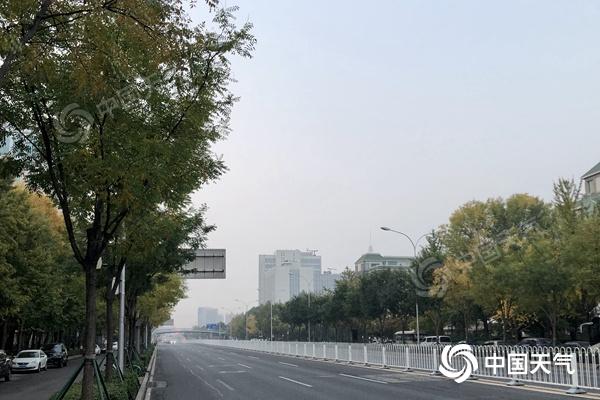 阵风7级!北京今日傍晚到夜间北风强劲 明日气温下降明显